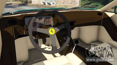 Ferrari Testarossa 1984 v1.5 for GTA 5