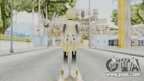 Project Diva F 2nd - Kagamine Rin Append for GTA San Andreas third screenshot