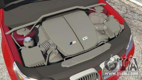 GTA 5 BMW M5 (E60) 2006 rear right side view