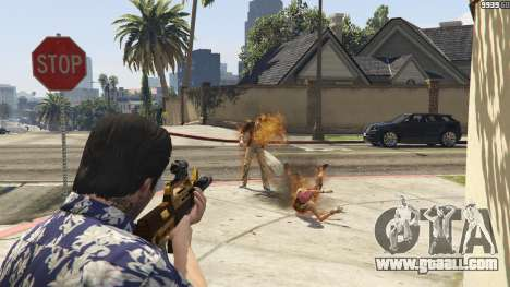GTA 5 Flamethrower for GTA 5 second screenshot
