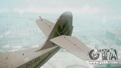 Grumman G-21 Goose DQAYL for GTA San Andreas back left view