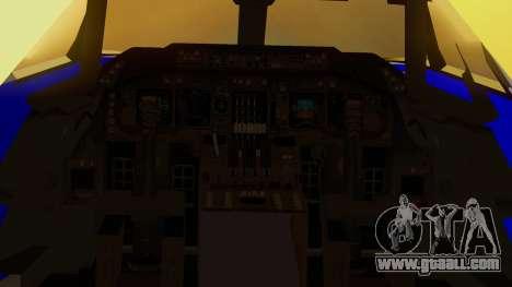 Boeing 747-200 Trans GTA Air for GTA San Andreas back view