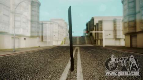 Machete from Friday the 13th Movie for GTA San Andreas second screenshot