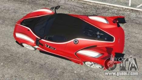 Ferrari FXX-K 2015 v1.1 for GTA 5