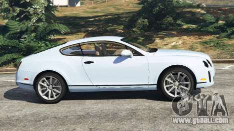 GTA 5 Bentley Continental Supersports [Beta] left side view