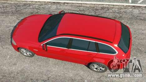 GTA 5 BMW 525d (F11) Touring 2015 (UK) back view