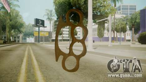 Atmosphere Brass Knuckles v4.3 for GTA San Andreas second screenshot