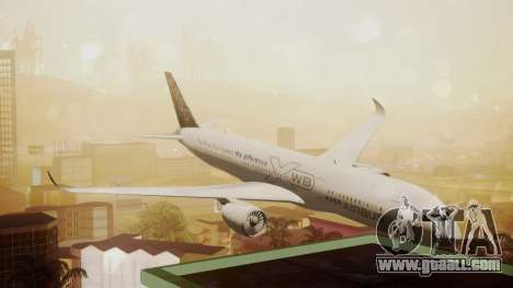 Airbus 350-900XWB Around The World for GTA San Andreas