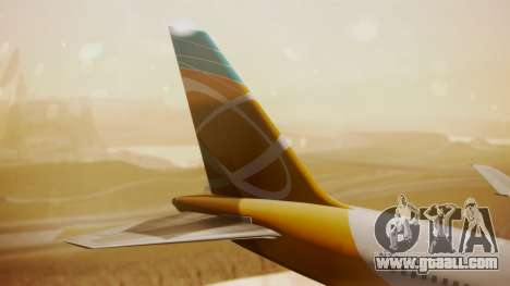 Boeing 767-300 Orbit Airlines for GTA San Andreas back left view