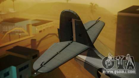 Grumman G-21A Goose for GTA San Andreas back left view