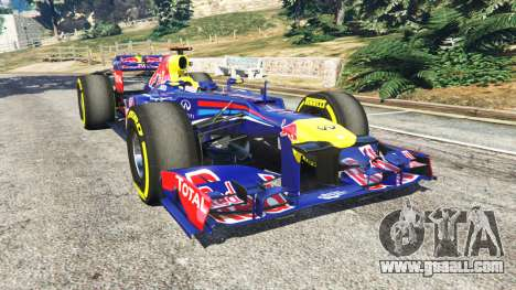 Red Bull RB8 [Sebastian Vettel] for GTA 5