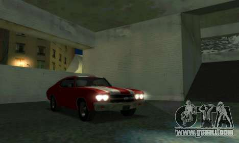 Chevrolet Chevelle SS [Winter] for GTA San Andreas