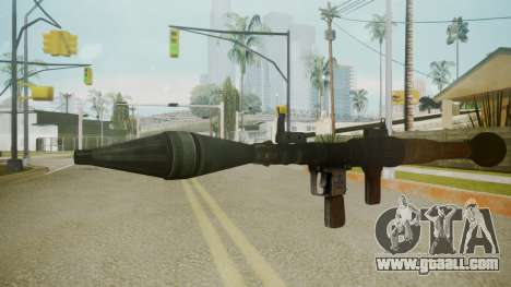 Atmosphere Rocket Launcher v4.3 for GTA San Andreas
