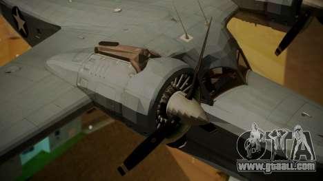 Grumman G-21A Goose for GTA San Andreas right view