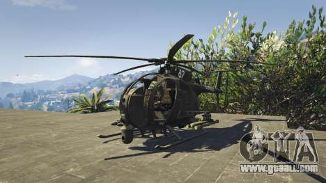 GTA 5 MH-6/AH-6 Little Bird Marine second screenshot