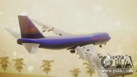 Boeing 747-200 Trans GTA Air for GTA San Andreas left view