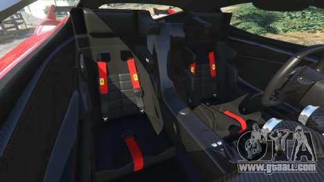 GTA 5 Ferrari FXX-K 2015 wheel