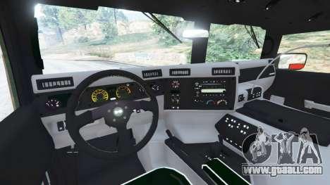 GTA 5 Hummer H1 v2.0 rear right side view