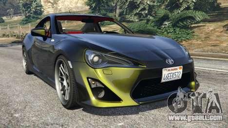 Toyota GT-86 v1.2 for GTA 5