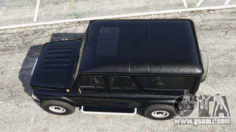GTA 5 UAZ-3159 bars [Beta] back view
