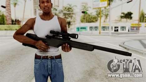 Rifle from RE6 for GTA San Andreas third screenshot