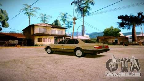 BMW 735il E32 1992 for GTA San Andreas right view