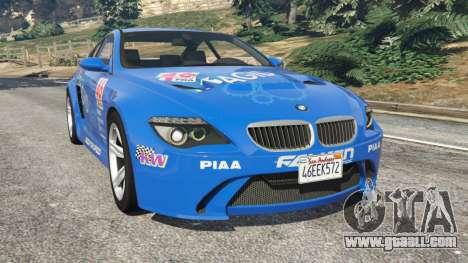 BMW M6 (E63) WideBody v0.1 [Pagid RS] for GTA 5