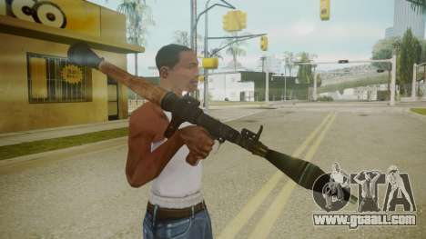Atmosphere Rocket Launcher v4.3 for GTA San Andreas third screenshot