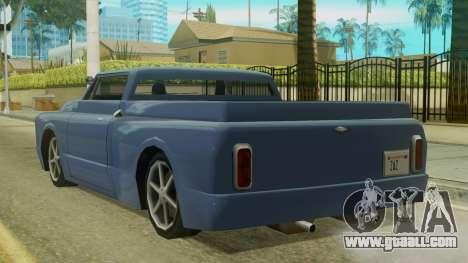 Kounts Pickup PaintJob for GTA San Andreas left view