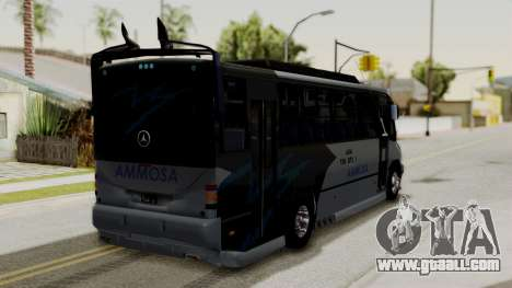 Marcopolo Boxer Ammosa for GTA San Andreas left view
