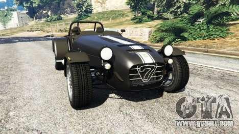 Caterham Super Seven 620R v1.5 [black] for GTA 5