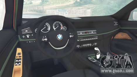 BMW 525d (F11) Touring 2015 (UK) for GTA 5
