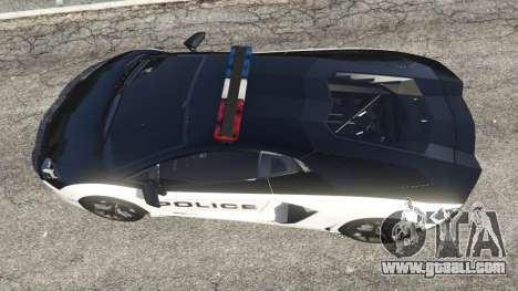 Lamborghini Aventador LP700-4 Police v4.0 for GTA 5