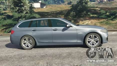 GTA 5 BMW 525d (F11) Touring 2015 (US) left side view