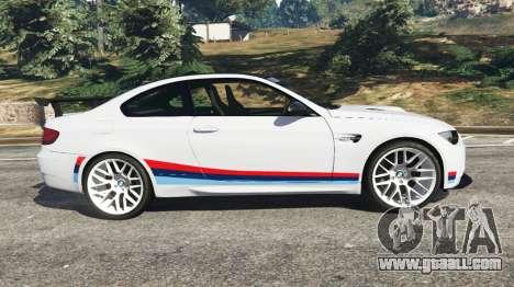 GTA 5 BMW M3 GTS left side view