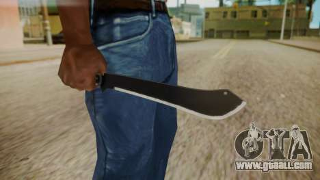 GTA 5 Machete (From Lowider DLC) for GTA San Andreas third screenshot