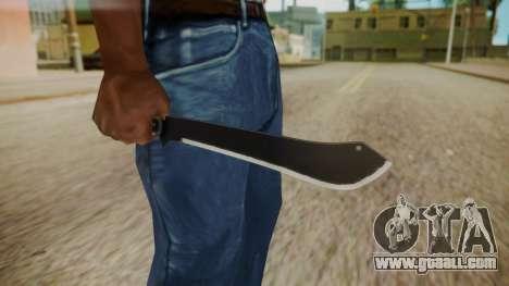 GTA 5 Machete (From Lowider DLC) for GTA San Andreas third screenshot