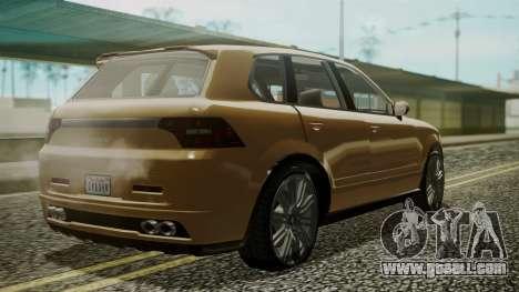 GTA 5 Obey Rocoto for GTA San Andreas left view