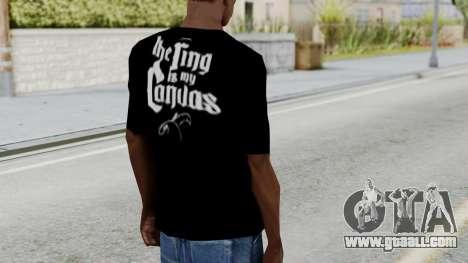 Jeff Hardy Shirt v3 for GTA San Andreas third screenshot
