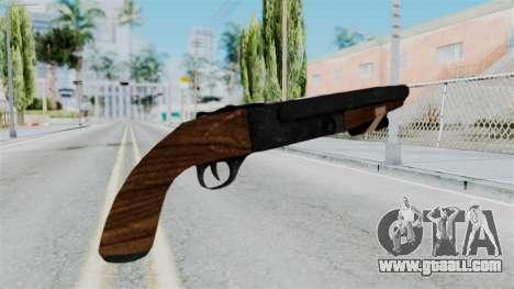 Sawnoff Shotgun from RE6 for GTA San Andreas second screenshot