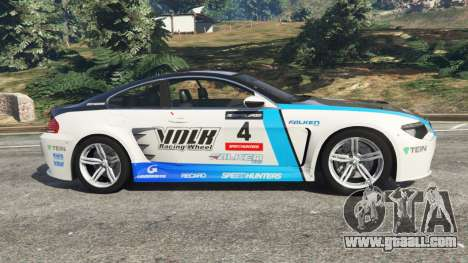 GTA 5 BMW M6 (E63) WideBody v0.1 [Volk Racing Wheel] left side view