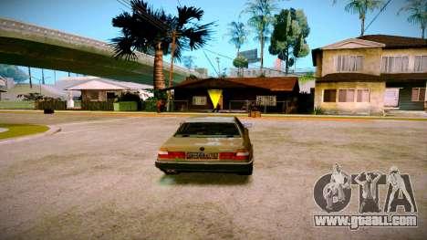 BMW 735il E32 1992 for GTA San Andreas left view