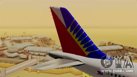 Airbus A310-300 Philippine Airlines Livery for GTA San Andreas back left view