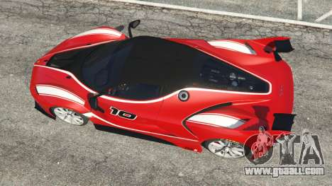 GTA 5 Ferrari FXX-K 2015 back view