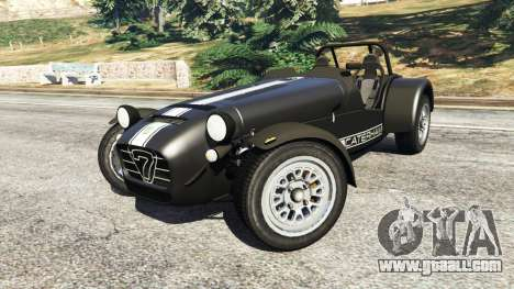 GTA 5 Caterham Super Seven 620R v1.5 [black] right side view