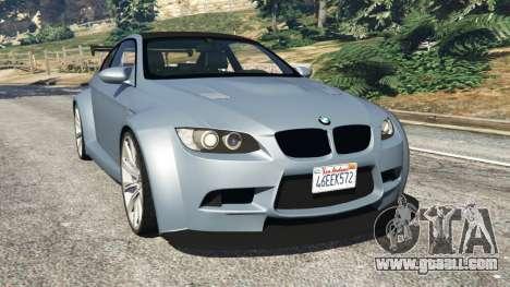 BMW M3 (E92) WideBody v1.0 for GTA 5