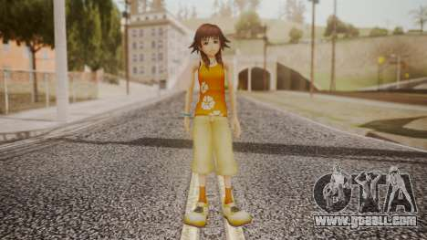 Kingdom Hearts 2 - Olette for GTA San Andreas second screenshot