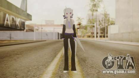 Project Diva Dreamy Theater - Yowane Haku for GTA San Andreas second screenshot