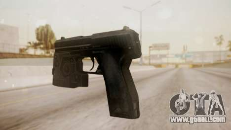 USP 45 from CoD MW for GTA San Andreas second screenshot
