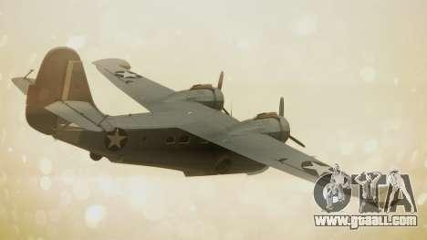 Grumman G-21A Goose for GTA San Andreas left view